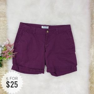 Old Navy Shorts Flat Front Size 6